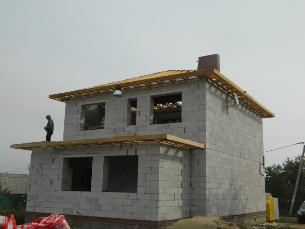 Всё о строительстве частного дома из газобетона своими руками 605