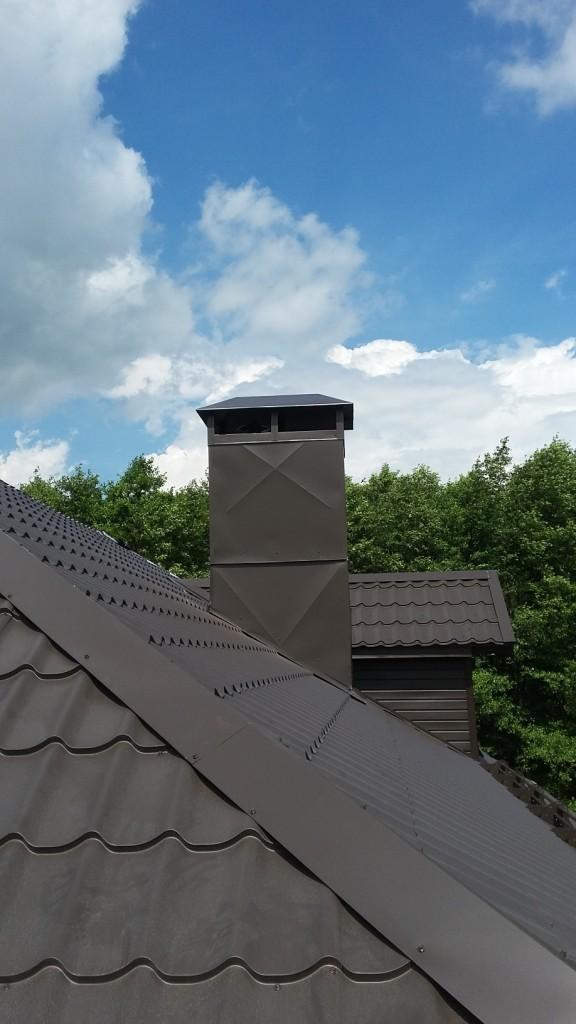 Короб для вентиляции на крышу своими руками 66