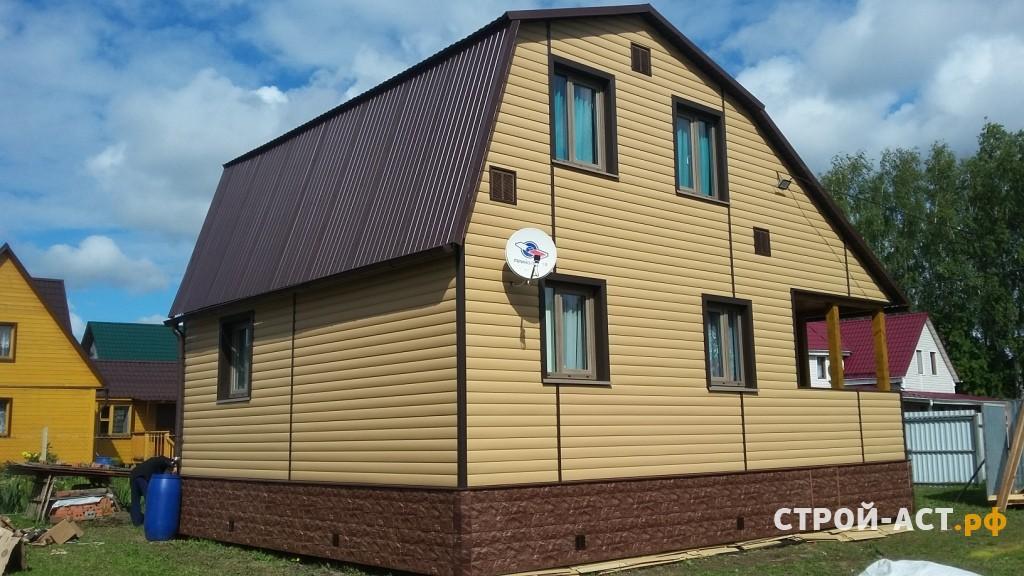 сайдинг дёке фото домов карамель