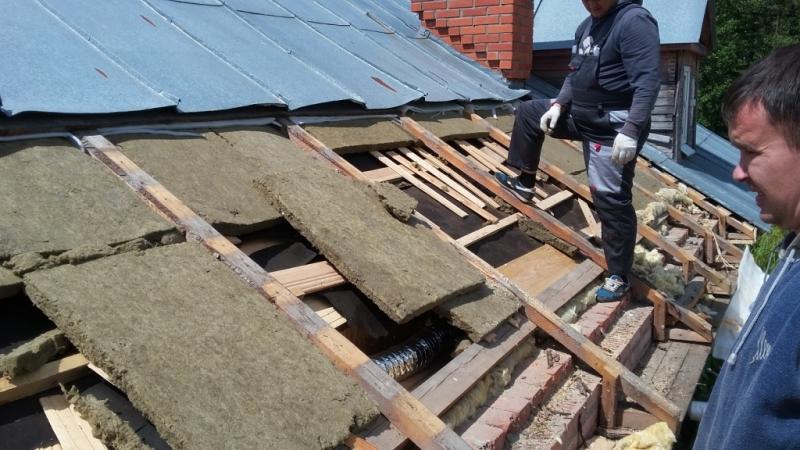 Ремонтируем крышу дома своими руками